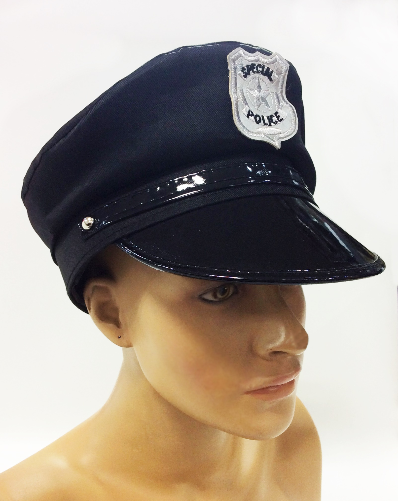 19438df0253b7 QUEPE POLICIAL COM EMBLEMA BORDADO – Lojas Keff
